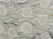 Marbled paper #6081