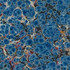 Marbled paper #5922