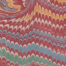 Marbled paper #5955