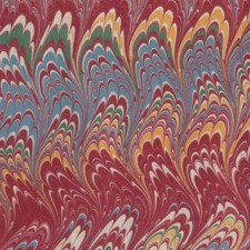 Marbled paper #6154